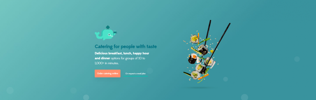 Office Catering is now even easier with MobyDish's new website